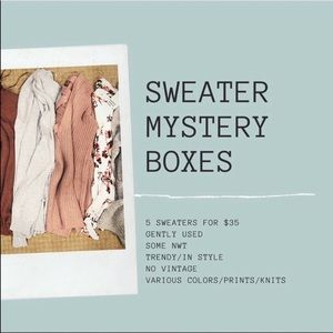 Sweater Mystery Box